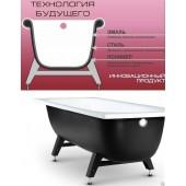 Ванна стальная Reimar 170х70х40 полимерное покрытие с опорной подставкой R-74901