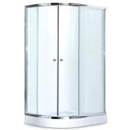 Душевой уголок DN503R 120х80х194 низкий поддон 13см Правый стекло матов профиль алюминеый