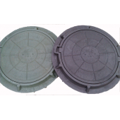 Люк канализ. полимерный 30 кН (3т) круглый (758х60 мм)