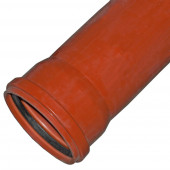 Труба Ф110*2,0м наружняя (оранж.) ВОРОНЕЖПЛАСТ
