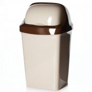 Контейнер д/мусора педальный 7л 4312026(пластик)