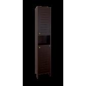 шкаф Кантри колонна 360 с нишей Венге