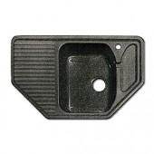Мойка комп. GRANFEST Corner GF-C800E (F-10) (800х500) Черный 308 угловая