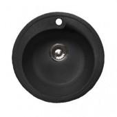 Мойка комп. GRANFEST Rondo GF-R450 (GF-45) (d450) Черный 308 круглая