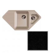 Мойка комп. GRANFEST Corner GF-C950E (F-10K) (950х500) Черный 308 угловая