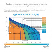 Насос-автомат Джилекс Джамбо 70/50 П-50 ДОМ