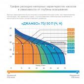 Насос-автомат Джилекс Джамбо 70/50 Н-50 Н ДОМ