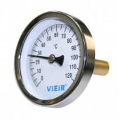 Термометр накладной с гильзой VIEIR