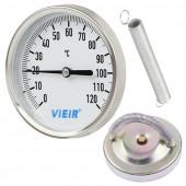 Термометр накладной с пружиной VIEIR