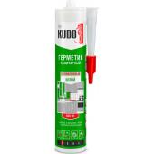 Герметик KUDO силиконовый санитарный БЕЛЫЙ 280мл