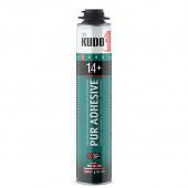 Клей-пена проф. (под пистолет) всесезон. для теплоизоляционных плит KUDO PROFF 14+ 900гр/1000мл
