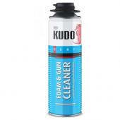 Очиститель монтажной пены проф. (под пистолет) KUDO FOAM&GUN CLEANER 650мл/456гр