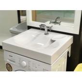 """Умывальник """"Comfort-600"""" 60х55 (545*598*92) над стиральной машиной Andrea"""