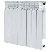 Радиатор алюминиевый Oasis S 500/80 (6 секций) (1140Вт)