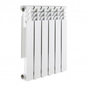 Радиатор алюминиевый ROMMER Optima 500/80 (8 секций) (1240Вт)