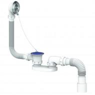 Обвязка на ванну S12 или глубокого поддона (плоский) с выпуском и переливом