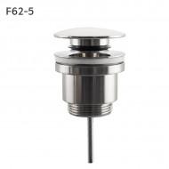 F62-5 Выпуск клик-клак большая кнопка сатин