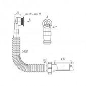 Адаптерное кольцо с круглым вертикальным переливом (27мм) N420SR2