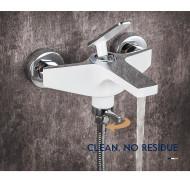 F3258 Смеситель для ванны с душем короткий излив FRAP 3258 Белый