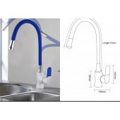 F4034+7251 Смеситель для кухни гибкий излив картридж Ф35 FRAP 4034-7251 Зеленый