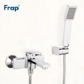 F3246 Смеситель для ванны с душем картридж 35мм короткий излив FRAP 3246