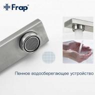 F40803 Смеситель для кухни высокий излив из нержавеющей стали FRAP 40803