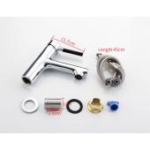 F1044 Смеситель для умывальника литой корпус картридж 35мм FRAP 1044
