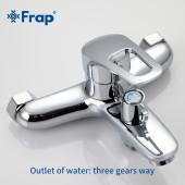 F2823 Готовый комплект смесителей для ванной комнаты 3 в 1 FRAP 2823
