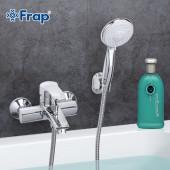 F3070 Смеситель для ванны с душем картридж 40мм короткий излив FRAP 3070
