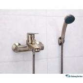 F3030-4 Смеситель для ванны с душем картридж 40мм короткий излив FRAP 3030-4 под бронзу