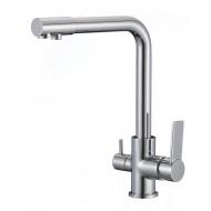 SL130-015F Смеситель для кухни с переключением фильтра для питьевой воды Картридж 35мм Евро-переключение Крепление: гайка (РМС)