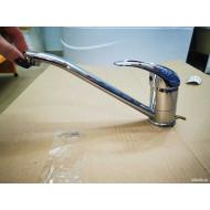 F4202-B Смеситель для кухни поворотный гусак 25см, картридж Ф40 FRAP 4202-B