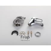 F1013 Смеситель для умывальника литой корпус картридж 35мм FRAP 1013