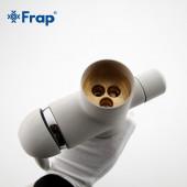F4399-8 Смеситель для кухни с подключением фильтра питьевой воды картридж 35мм FRAP 4399-8 Белый