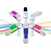 F1034 Смеситель для умывальника литой корпус картридж 35мм FRAP 1034 Белый+6 цветных накладок на ручку