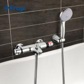 F3051 Термостатический смеситель ванны с душем короткий излив FRAP 3051
