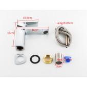 F1046 Смеситель для умывальника литой корпус картридж 35мм FRAP 1046
