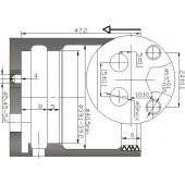 Картридж ВАРИОН 40 мм (арт.6120060) тип: высокий