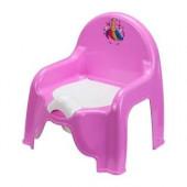 Горшок-стульчик детский_единорог М2596(пластик)