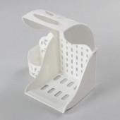 Держатель д/туалетной бумаги и освежителя воздуха М6052(пластик)