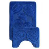 Комплект ковриков Confetti Multicolor 2шт 50х80/40х50см (темно-синий) 1/28 CONF.04.2/50*80-582