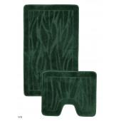 Набор ковриков д/ванной Zalel 2 пр. 60х100 (зеленый)