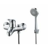 TSB848-1207 Смеситель для ванны с душем картридж 40мм короткий литой излив TSARSBERG 848-1207