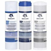 Ком-кт картриджей K-CA Стандарт 3-ой для питьевых систем UNICORN