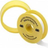 Фум лента PROFF 19мм х 0,2 х 15м (желтая большая)