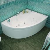 Ванна акриловая Triton Кайли левая на каркасе 150х100х62