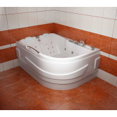 Ванна акриловая Triton Респект правая на каркасе 180х130х75