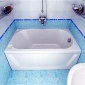Ванна акриловая Triton Лу-лу на каркасе 130х70х56