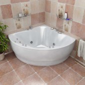 Ванна акриловая Triton Лилия на каркасе 150х150х68