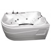 Ванна акриловая Triton Респект левая на каркасе 180х130х75